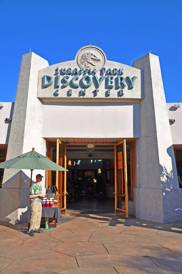 Centro di scoperta di Jurassic Park, Orlando universale, FL, U.S.A. fotografie stock