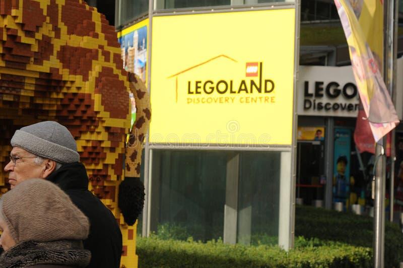 CENTRO DI SCOPERTA DI LEGOLAND A BERLINO GERMANIA fotografie stock