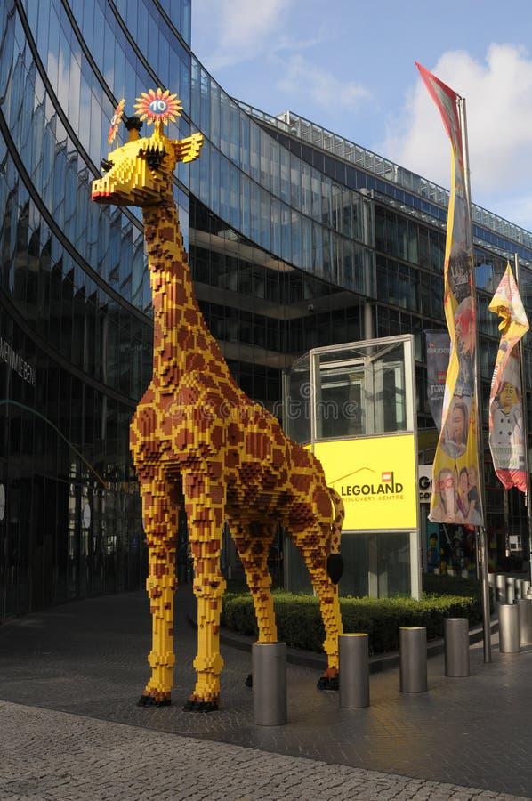 CENTRO DI SCOPERTA DI LEGOLAND A BERLINO GERMANIA fotografia stock libera da diritti