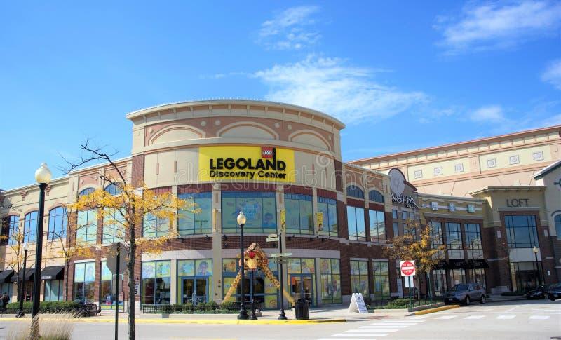 Centro di scoperta di Legoland, Chicago, IL fotografia stock