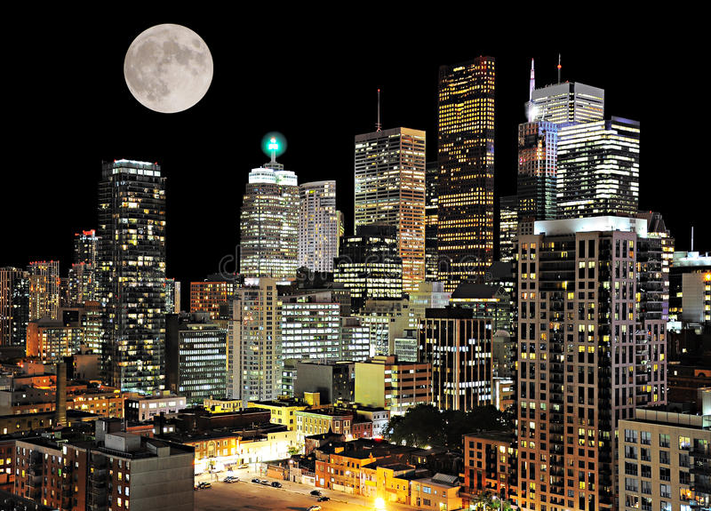 Centro di Toronto. fotografie stock