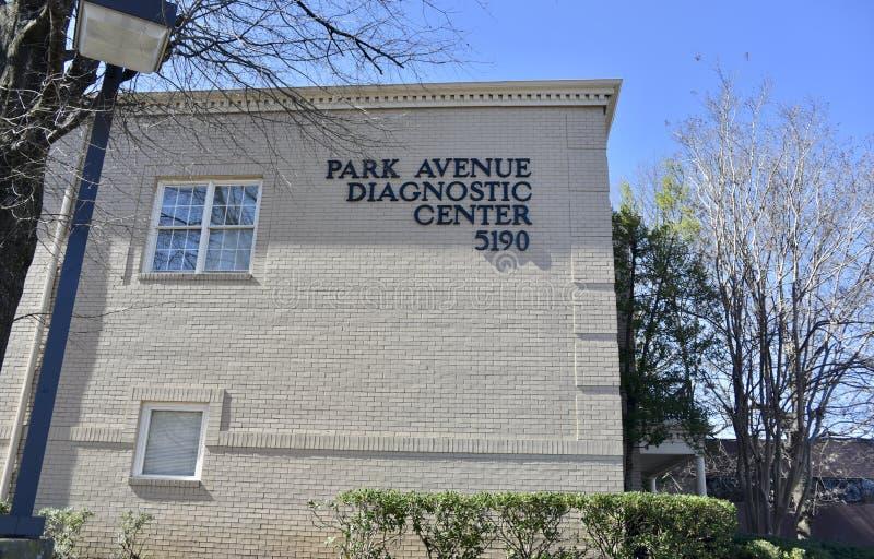 Centro diagnóstico de Park Avenue, Memphis, TN fotos de stock royalty free