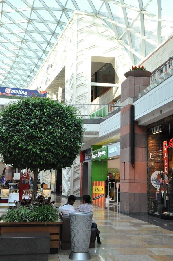 Centro do festival em Dubai, UAE fotos de stock