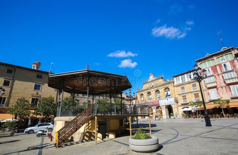 Centro do Haro em La Rioja, Espanha imagem de stock