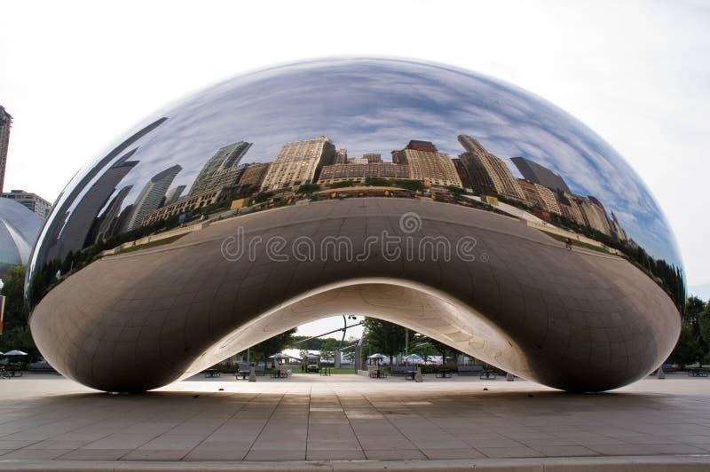 Centro do milênio em Chicago da baixa imagem de stock royalty free