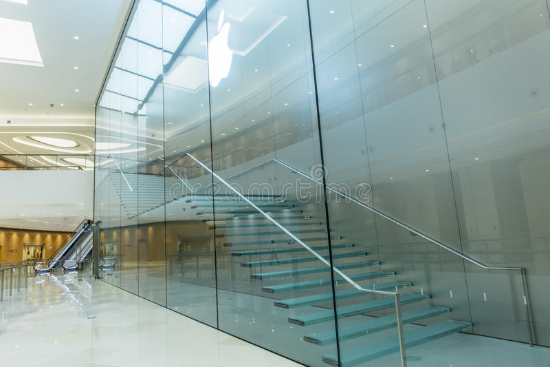 Centro do shopping fotografia de stock royalty free