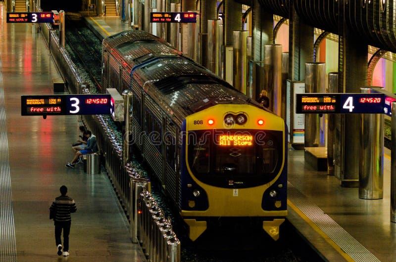 Centro do transporte de Britomart imagem de stock royalty free