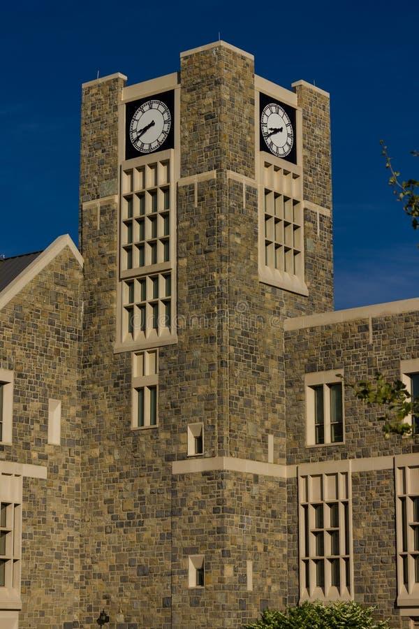 Centro dos alunos de Holtzman em Virginia Tech imagens de stock