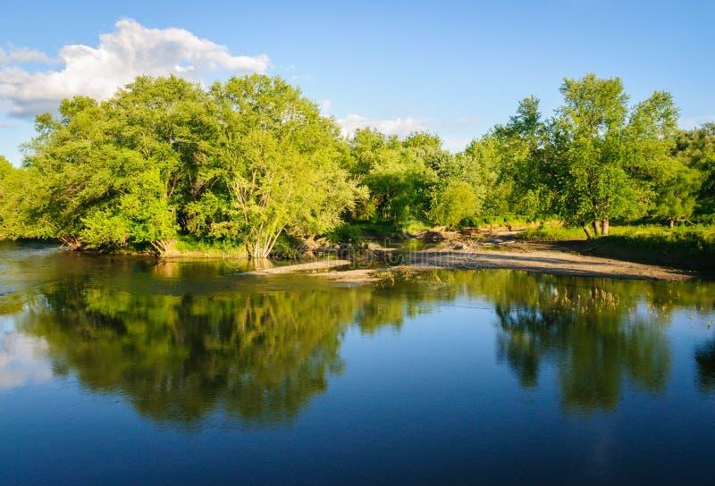 Centro e santuário de Jamestown Audubon fotografia de stock royalty free