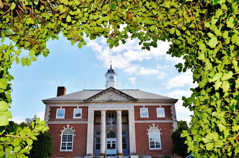 Centro educacional de Dôvar do estado de Delaware imagens de stock