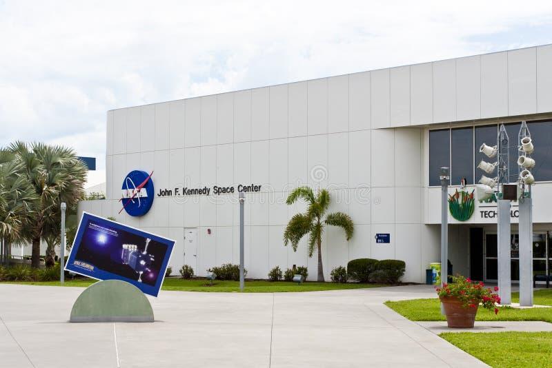 Centro espacial de John Kennedy fotografia de stock royalty free