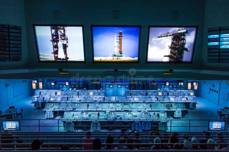 Centro Espacial Kennedy fotos de stock royalty free