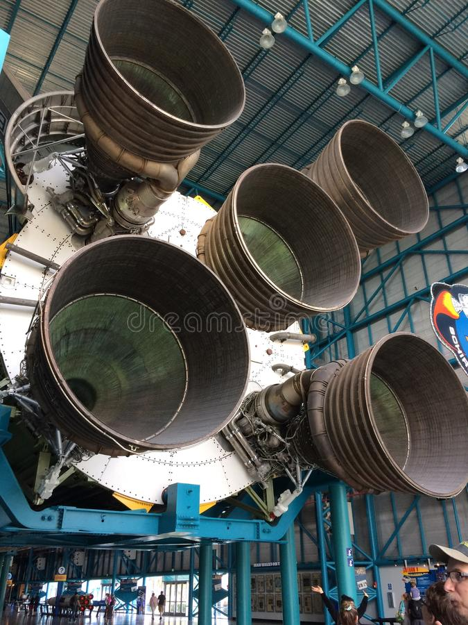 Centro Espacial Kennedy imagen de archivo libre de regalías