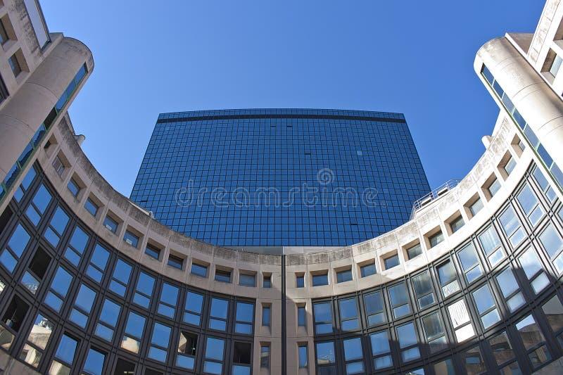 Centro financeiro imagens de stock