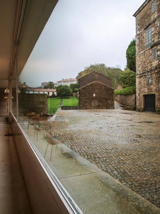 Centro Galego de Arte Contemporaneo image libre de droits