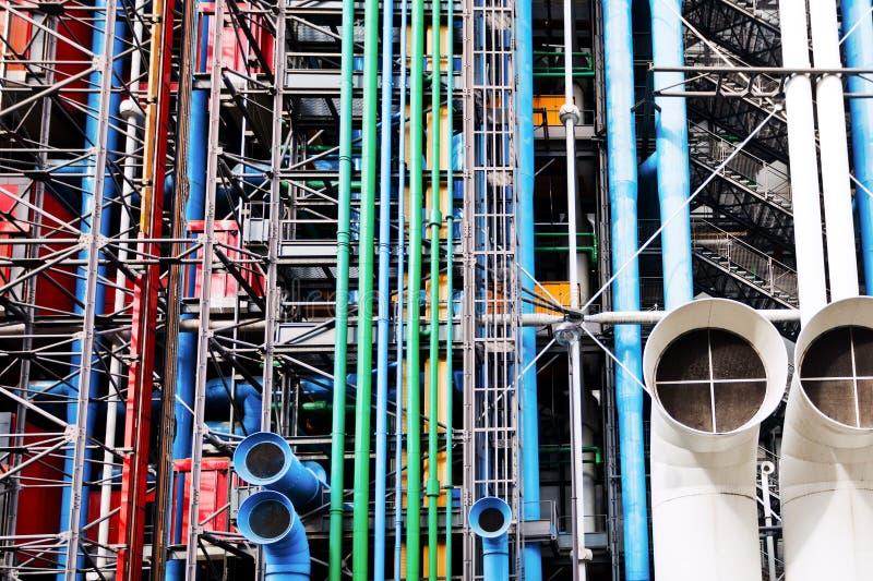 Centro Georges Pompidou en París fotos de archivo