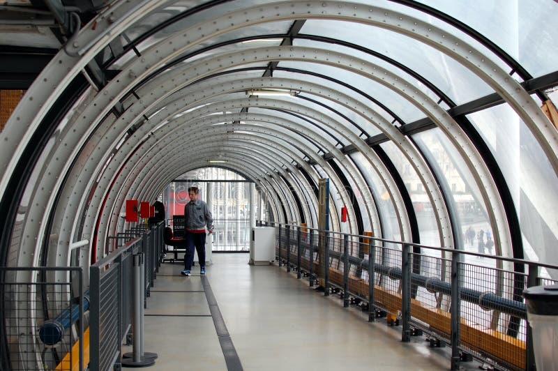 Centro Georges Pompidou en Par foto de archivo