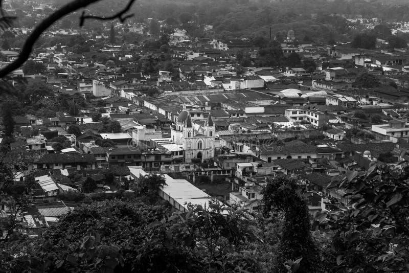 Centro histà ³ rico Coatepec stock afbeeldingen