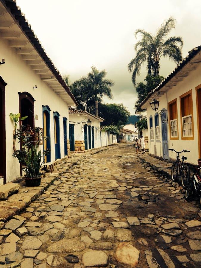 Centro histà ³ rico paraty Rio DE janeiro stock foto's