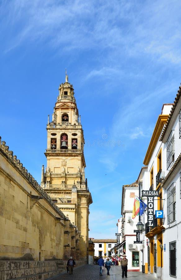Centro histórico de Córdova fotografia de stock