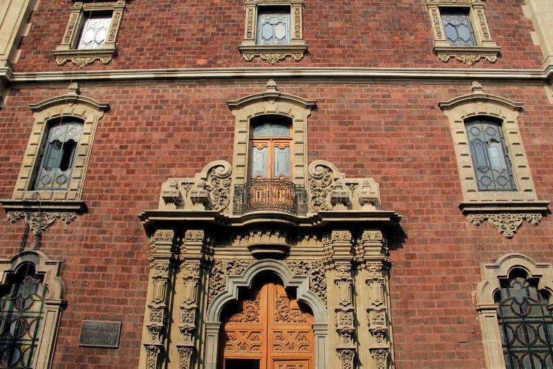 Centro histórico de Cidade do México imagens de stock royalty free