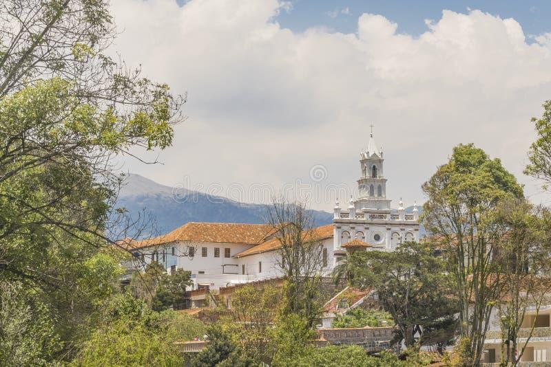 Centro histórico de Cuenca, Ecuador foto de archivo libre de regalías