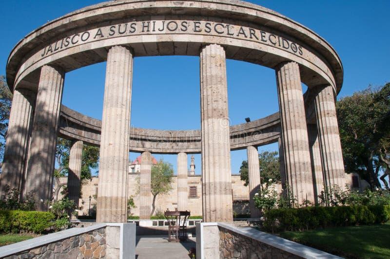 Centro histórico de Guadalajara (México) imágenes de archivo libres de regalías