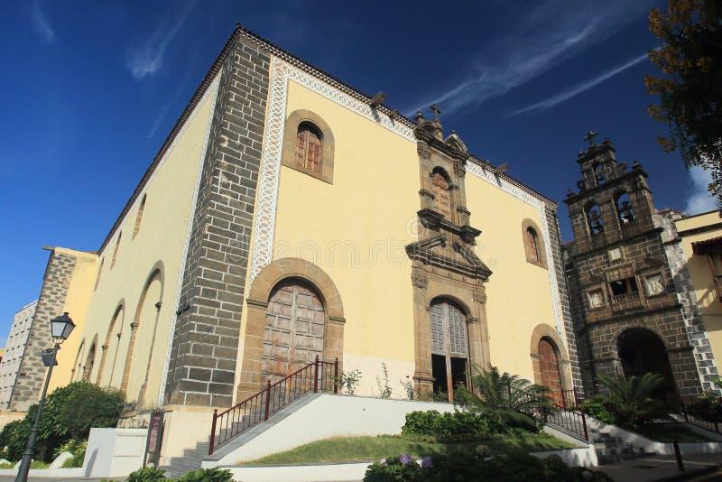Centro histórico de La Orotava imagem de stock royalty free