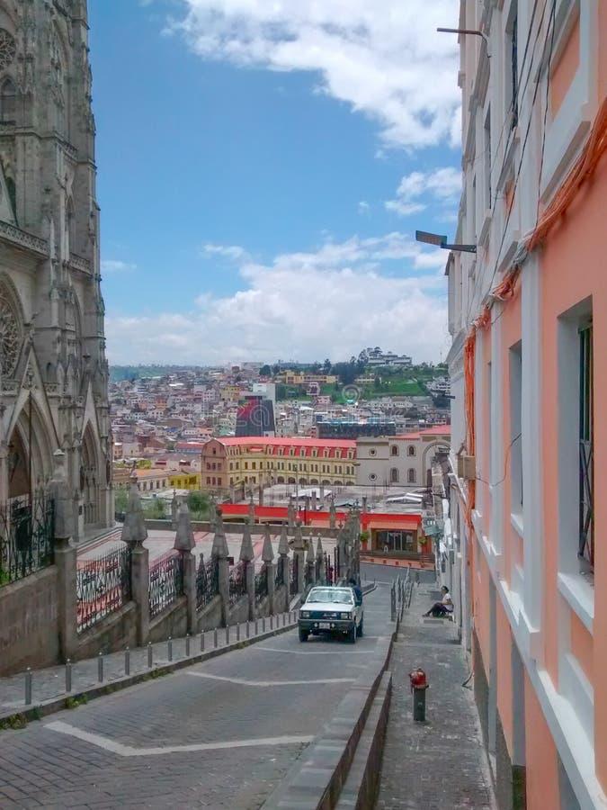 Centro histórico de Quito fotos de archivo