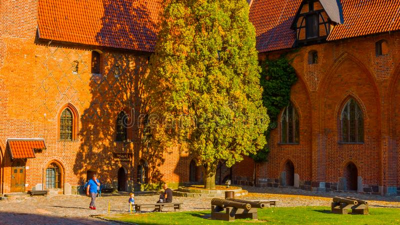 Centro histórico del ` s de Kraków - de Polonia, una ciudad con arquitectura antigua fotos de archivo