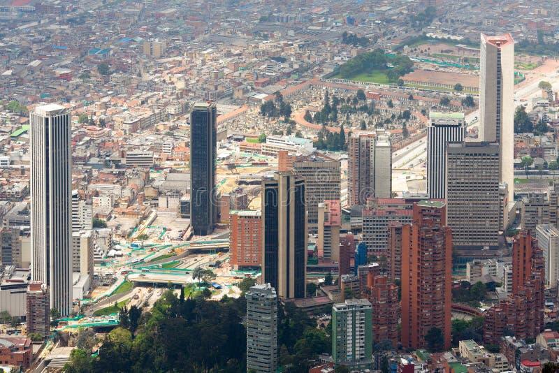 Centro internacional de Bogotá fotografia de stock royalty free