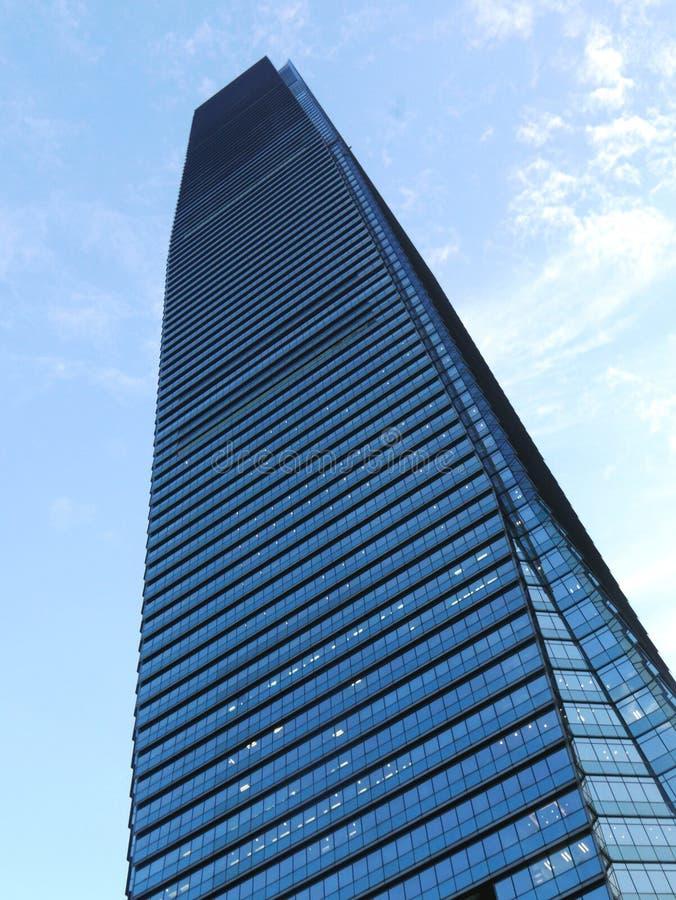Centro internazionale di commercio in Hong Kong fotografia stock libera da diritti