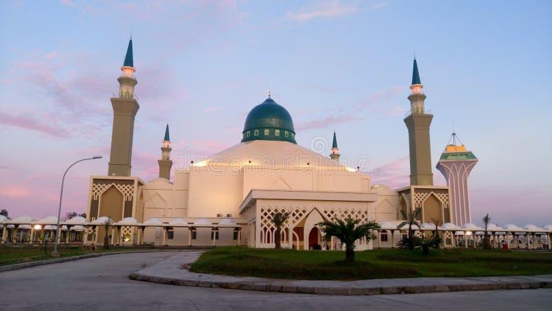 Centro islamico di Balikpapan immagini stock