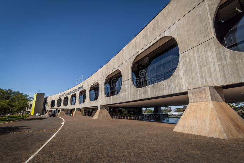 Centro Kulturalni Banco robią Brasil bank Brazylia Kulturalny centrum - Brasilia, Distrito Federacyjny, Brazylia - CCBB - obraz stock