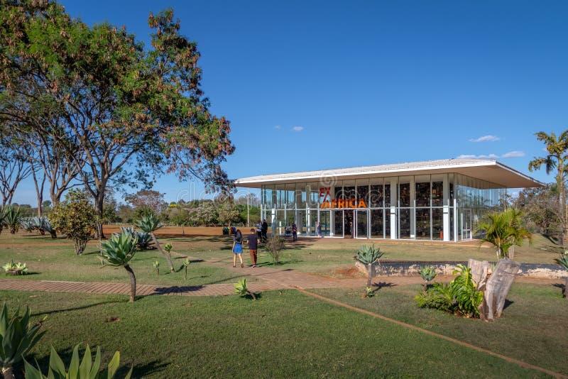 Centro Kulturalni Banco robią Brasil bank Brazylia Kulturalny centrum - Brasilia, Distrito Federacyjny, Brazylia - CCBB - obrazy royalty free