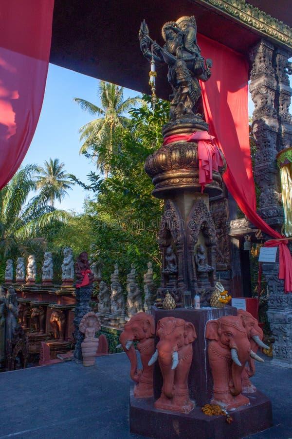 Centro Lipa Noi, Koh Samui, Tailandia di Dusit Dhewa immagini stock
