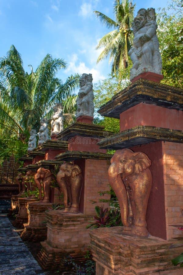 Centro Lipa Noi, Koh Samui, Tailandia di Dusit Dhewa fotografia stock libera da diritti