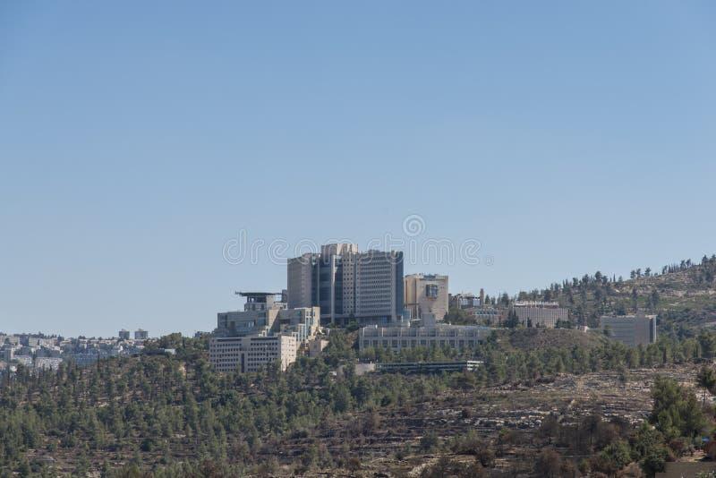 Centro médico de Hadassah fotos de stock