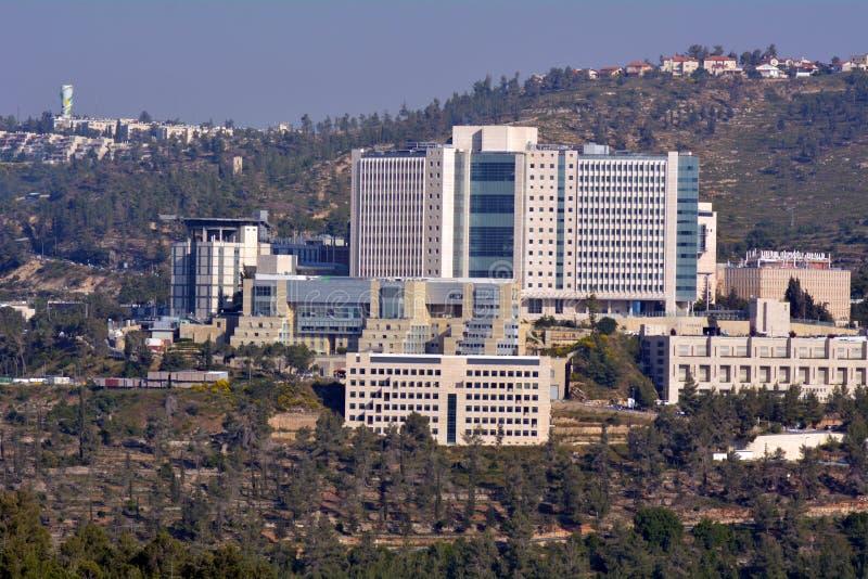 Centro médico de Hadassah no Jerusalém - Israel foto de stock
