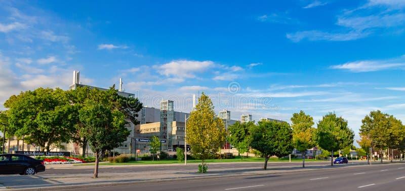 Centro médico Hamilton Ontario Canada de la universidad de Mcmaster fotos de archivo