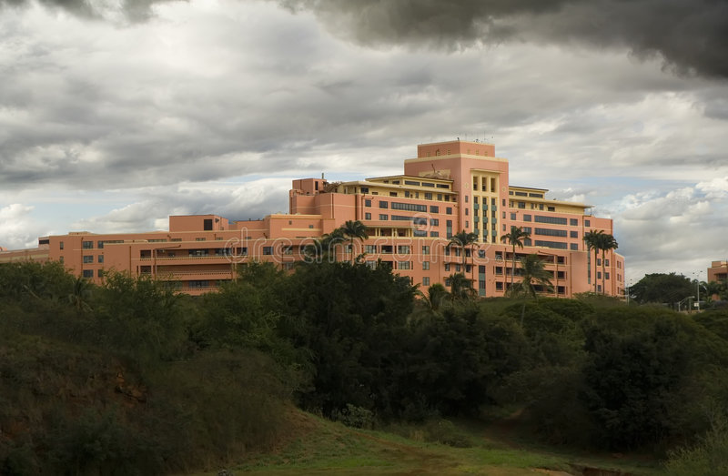 Centro medico dell'esercito di Tripler immagine stock