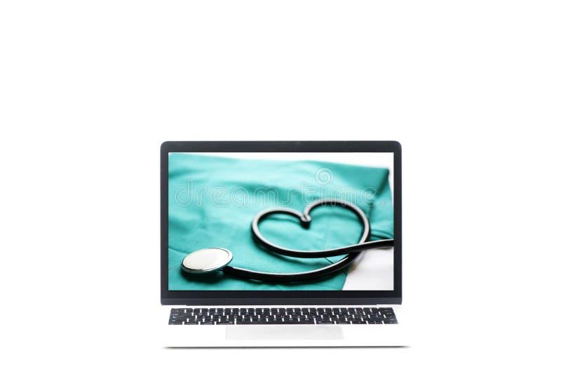 Centro medico online fotografie stock libere da diritti