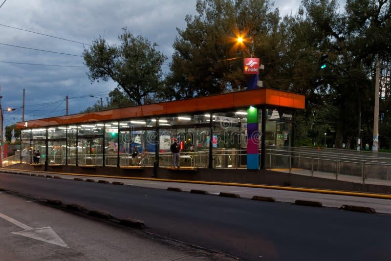 Centro moderno di Quito 2 fotografia stock libera da diritti
