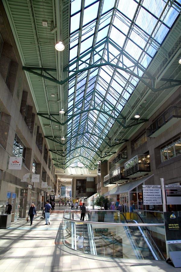 Centro municipal del norte de York imagen de archivo libre de regalías
