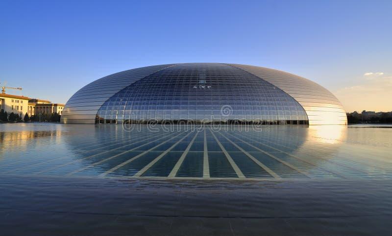 Centro nacional de Beijing para as artes de palco   imagens de stock
