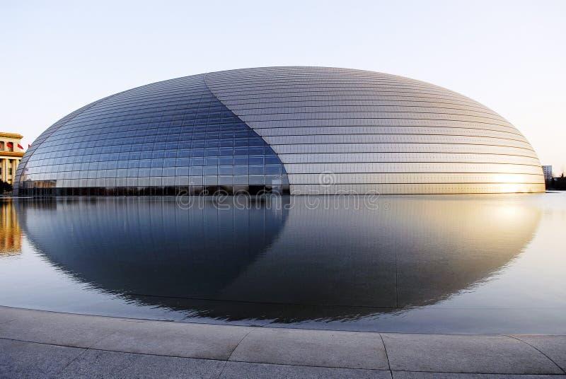 Centro nacional de Beijing para as artes de palco   imagem de stock
