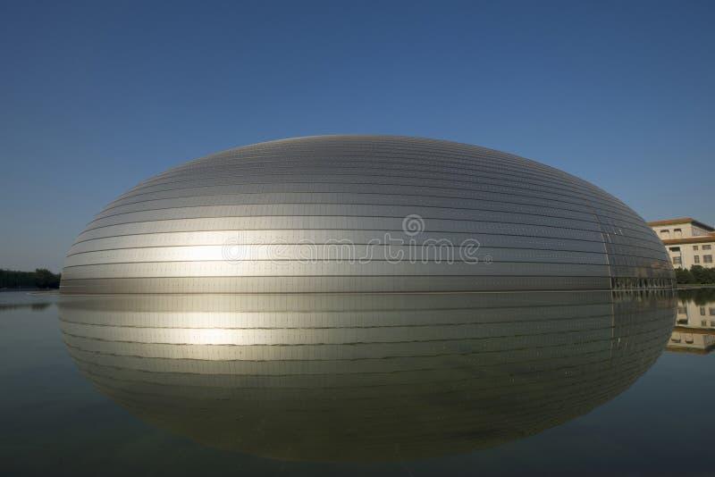 Centro nacional para as artes de palco, Pequim imagem de stock royalty free