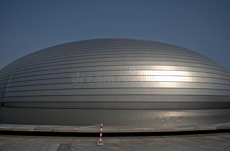 Centro nacional para as artes de palco, Pequim, China fotos de stock royalty free