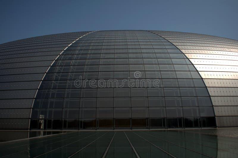 Centro nacional para as artes de palco, Pequim, China imagens de stock