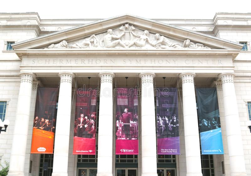 Centro Nashville de la sinfonía de Schermerhorn fotos de archivo